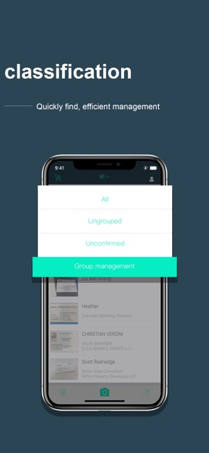 Foxcard business card scanner on the app store reheart Images