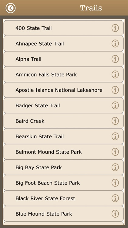 Great- Wisconsin Camping Guide screenshot-3