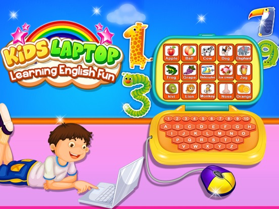 Alphabet Laptop - Educational screenshot 6