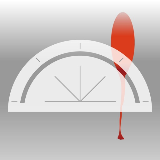 Blood Spatter Angle Calculator