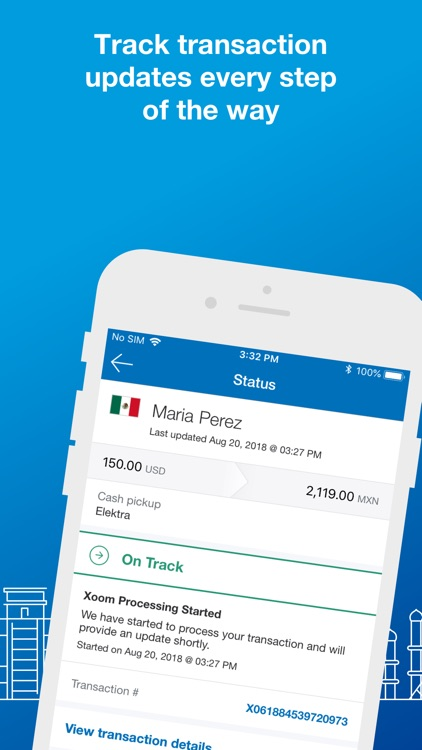 Xoom Money Transfer screenshot-4
