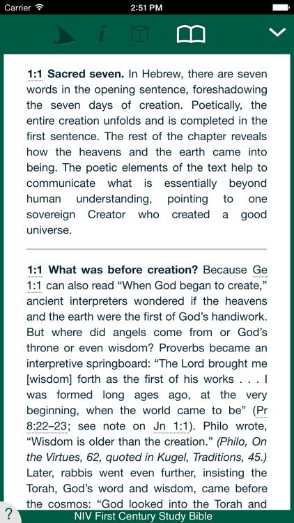 NIV First Century Study Bible screenshot-2