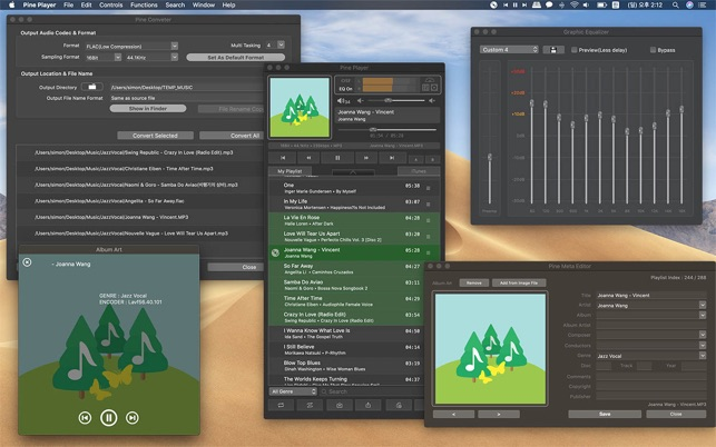 Pine Player on the Mac App Store