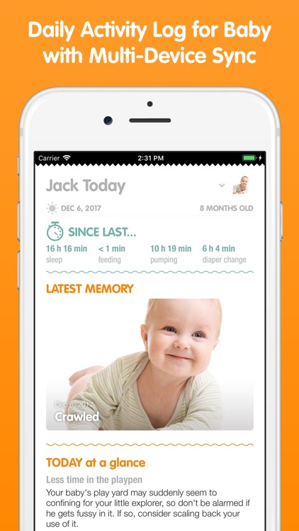 Sprout Baby + (Baby Tracker) screenshot-0