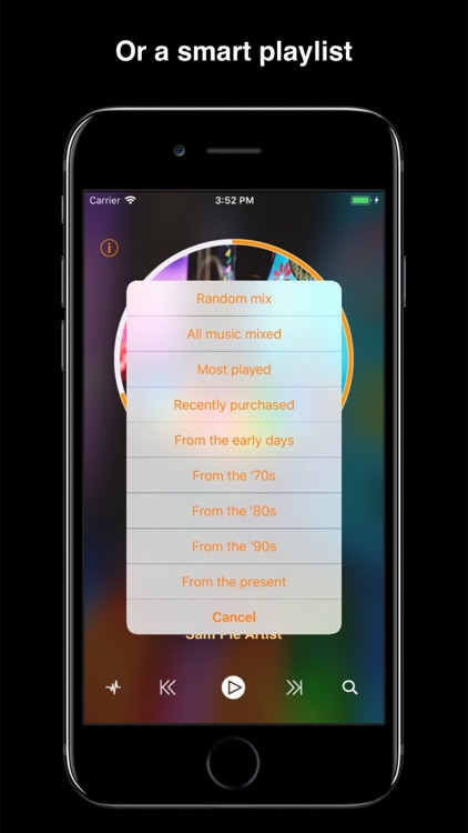 Impuls Music: smart playlists screenshot-3