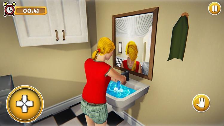 School Girl Life Simulator 3D screenshot-4