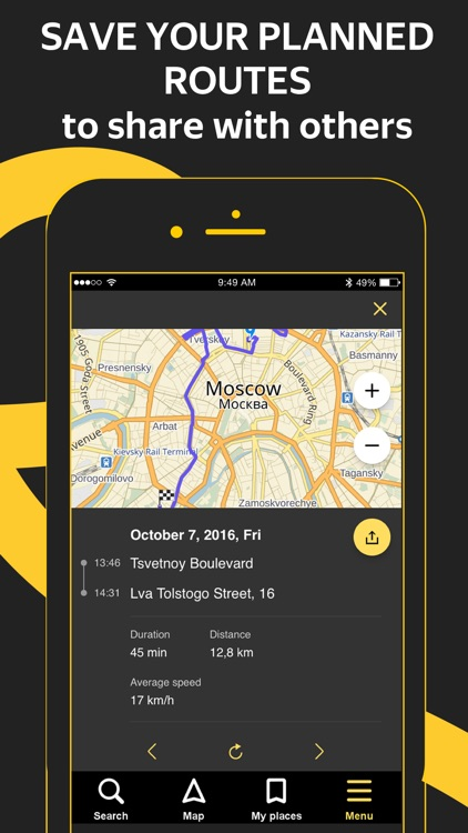 Yandex.Navi – navigation, maps screenshot-4