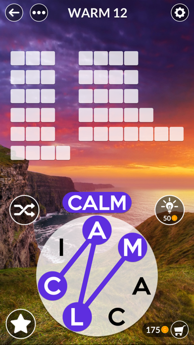 Wordscapes Uncrossed screenshot 2