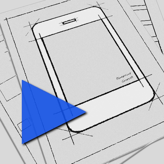 Blueprint app mockup on the app store blueprint viewer malvernweather Image collections