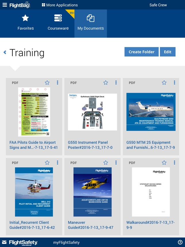 flightsafety on the app store