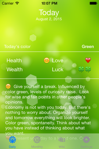 Color Horoscope - náhled