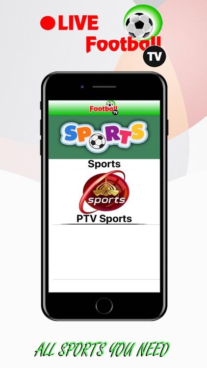 Live FootBall TV. screenshot-5