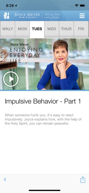 Joyce Meyer Ministries on the App Store