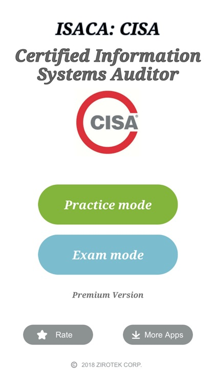 Cisa Certification Exam By Zirotek Corp