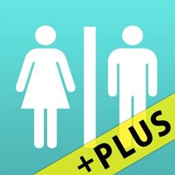 Restroom informatio Map【+Plus】