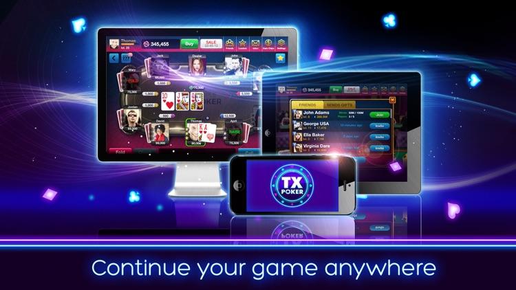 TX Poker - Texas Holdem Online screenshot-3
