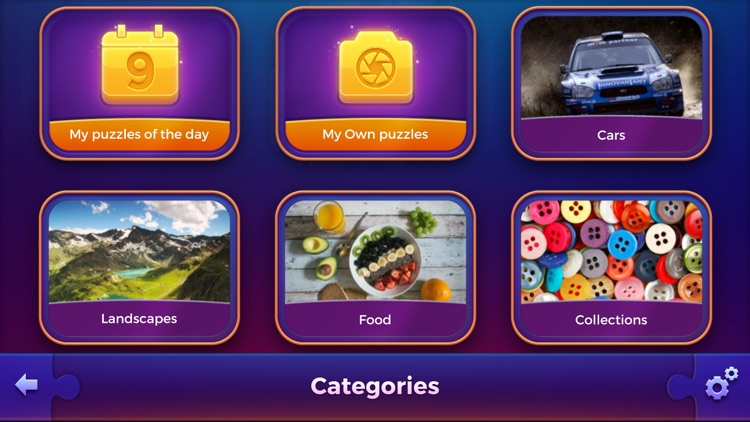 Jigsaw puzzle game - PuzzleTime screenshot-3