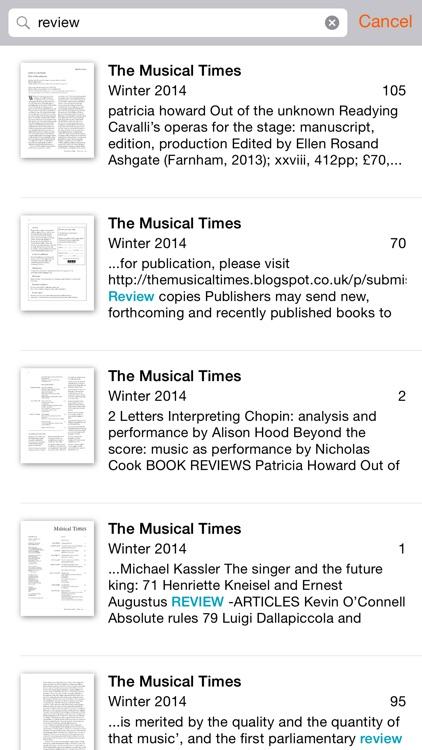 The Musical Times screenshot-3