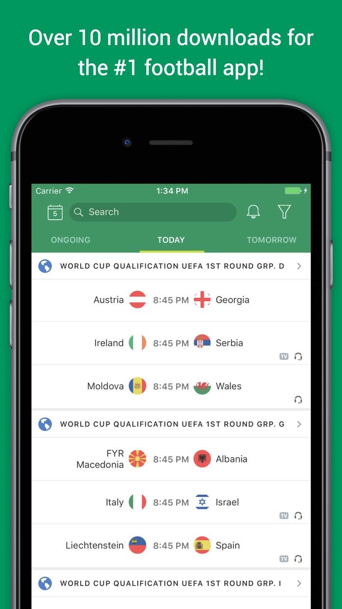 Soccer Scores Pro - FotMob Screenshot