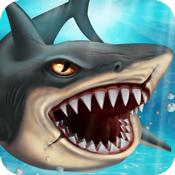 Shark World: Sharks & Jurassic sea animal fighting games icon