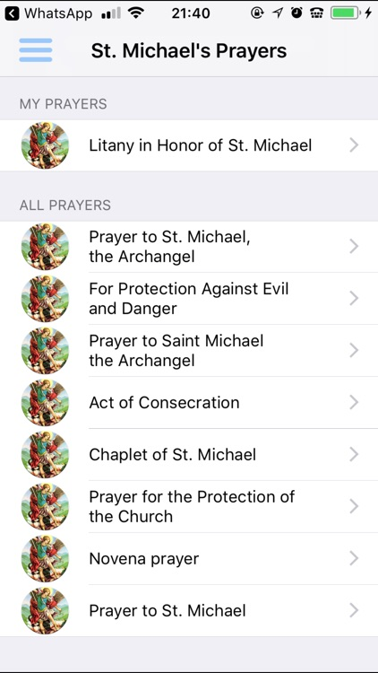 Saint Michael Prayers