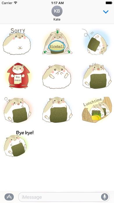 Adorable Fat Hamster Sticker screenshot 3