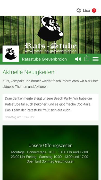 Ratsstube Grevenbroich screenshot 1
