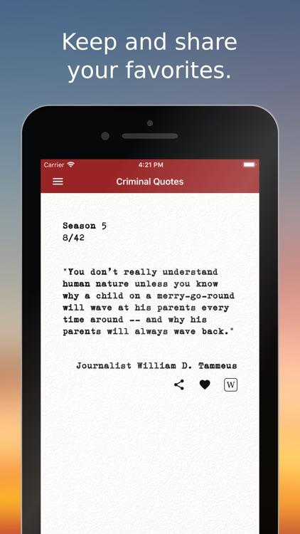 Criminal Quotes