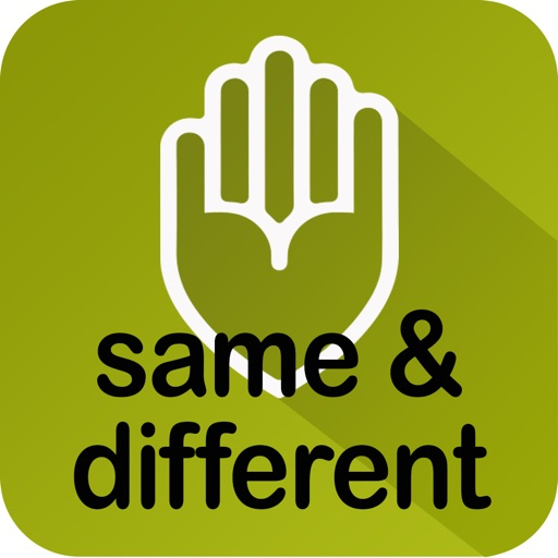 Autism iHelp- Same & Different