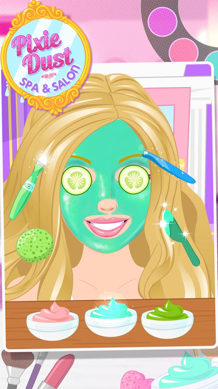 Makeup Salon Girls -Pixie Dust Screenshot