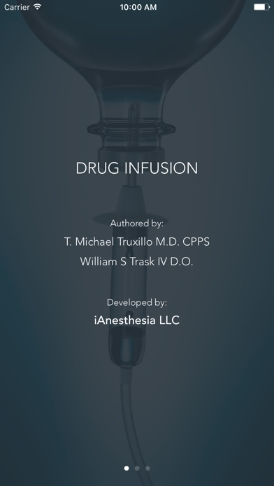 Screenshot for Drug Infusion - IV Medications in Portugal App Store