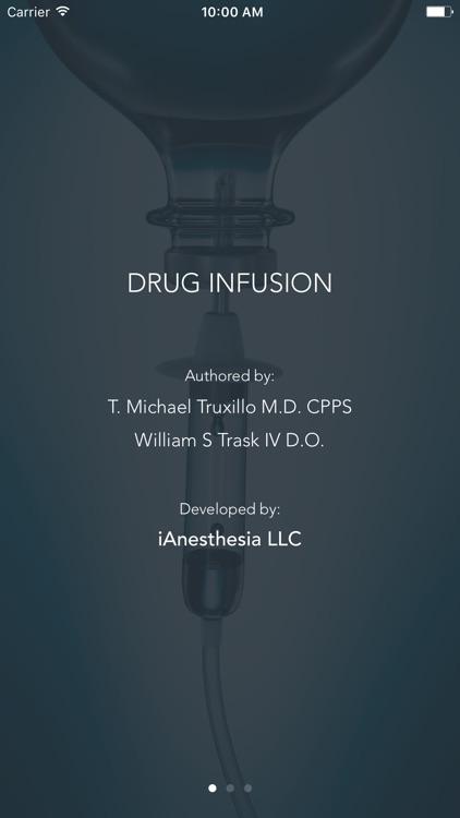 Drug Infusion - IV Medications