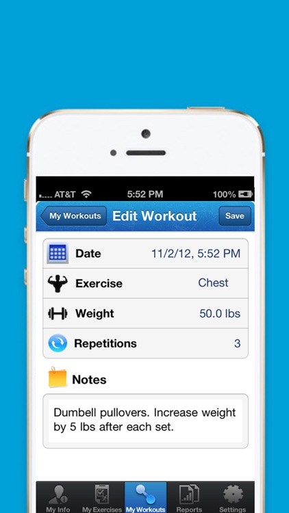 iExercise Journal screenshot-3