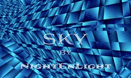 NightEnLight: Sky. An inspiration in blue
