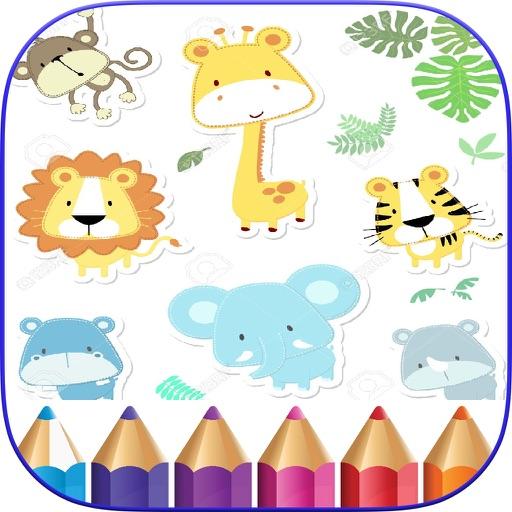 Cute Animals Coloring - Wilds iOS App