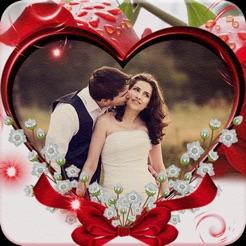 Beautiful Love Photo Frames 4+