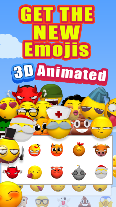 download New 3D Emojis Animated Emoji apps 0