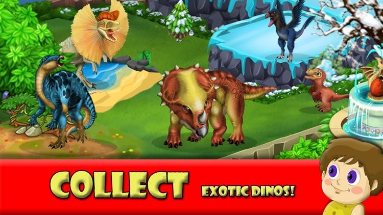 DINO WORLD -Jurassic Idle game