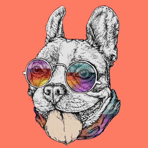 French Bulldog Emoji Stickers