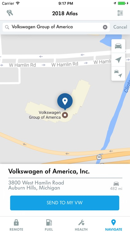 VW Car-Net Security & Service screenshot-3