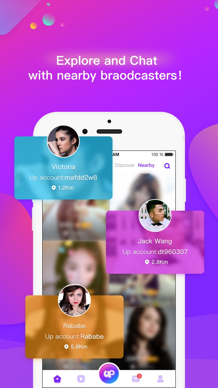 Uplive-Live Streaming App Screenshot
