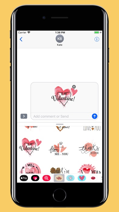 Screenshot for Water-draw Happy Valentine day in Switzerland App Store
