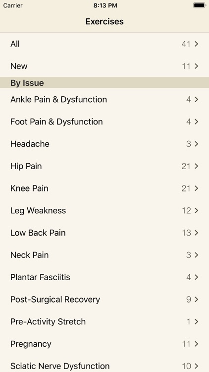 Pain Therapy: Exercise Videos screenshot-3