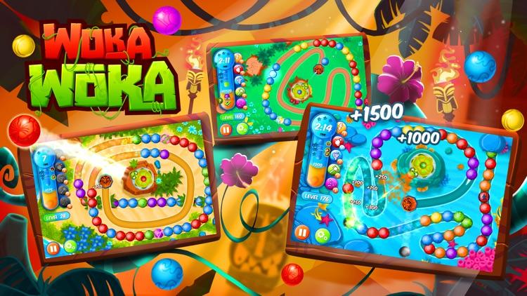 Woka Woka Marble: Blast & Pop screenshot-0
