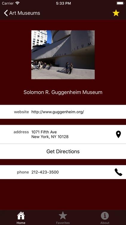 Museum Guide: New York screenshot-3