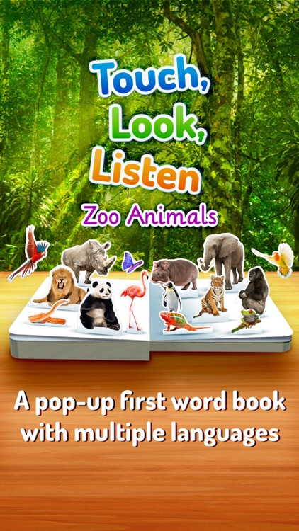 Zoo Animals ~ Touch, Look, Listen screenshot-0