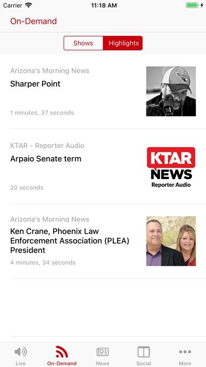 KTAR News 92.3 FM screenshot-3