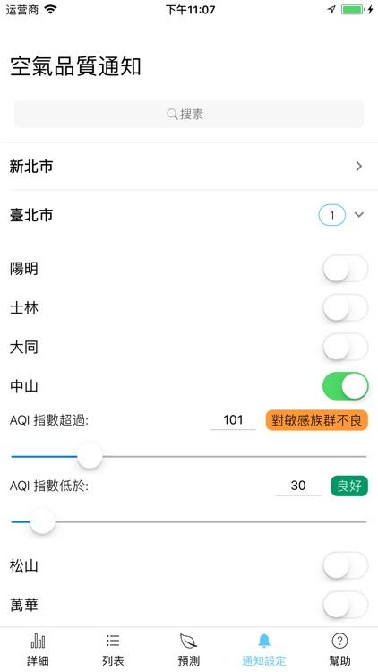 Taiwan Air, check PM2.5 easier screenshot-5