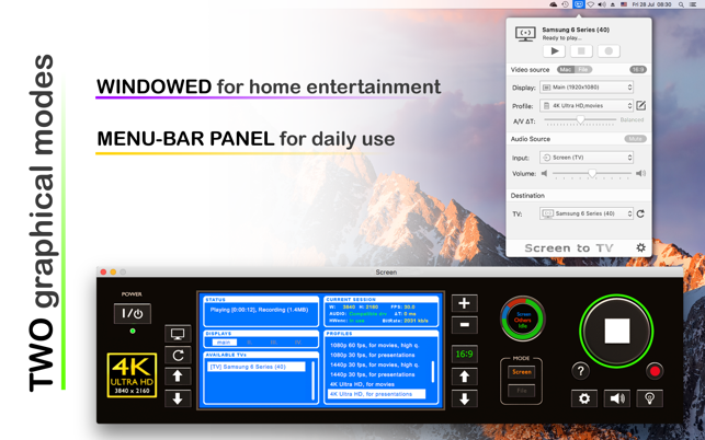 Screen to TV for Samsung & LG on the Mac App Store