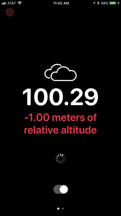 Up High - Barometric Altimeterのおすすめ画像2